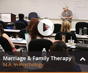 Learn more about marriage and family therapy here.