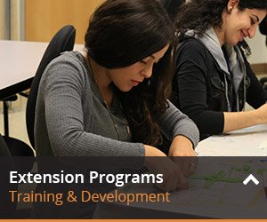 Learn more about extension programs here.
