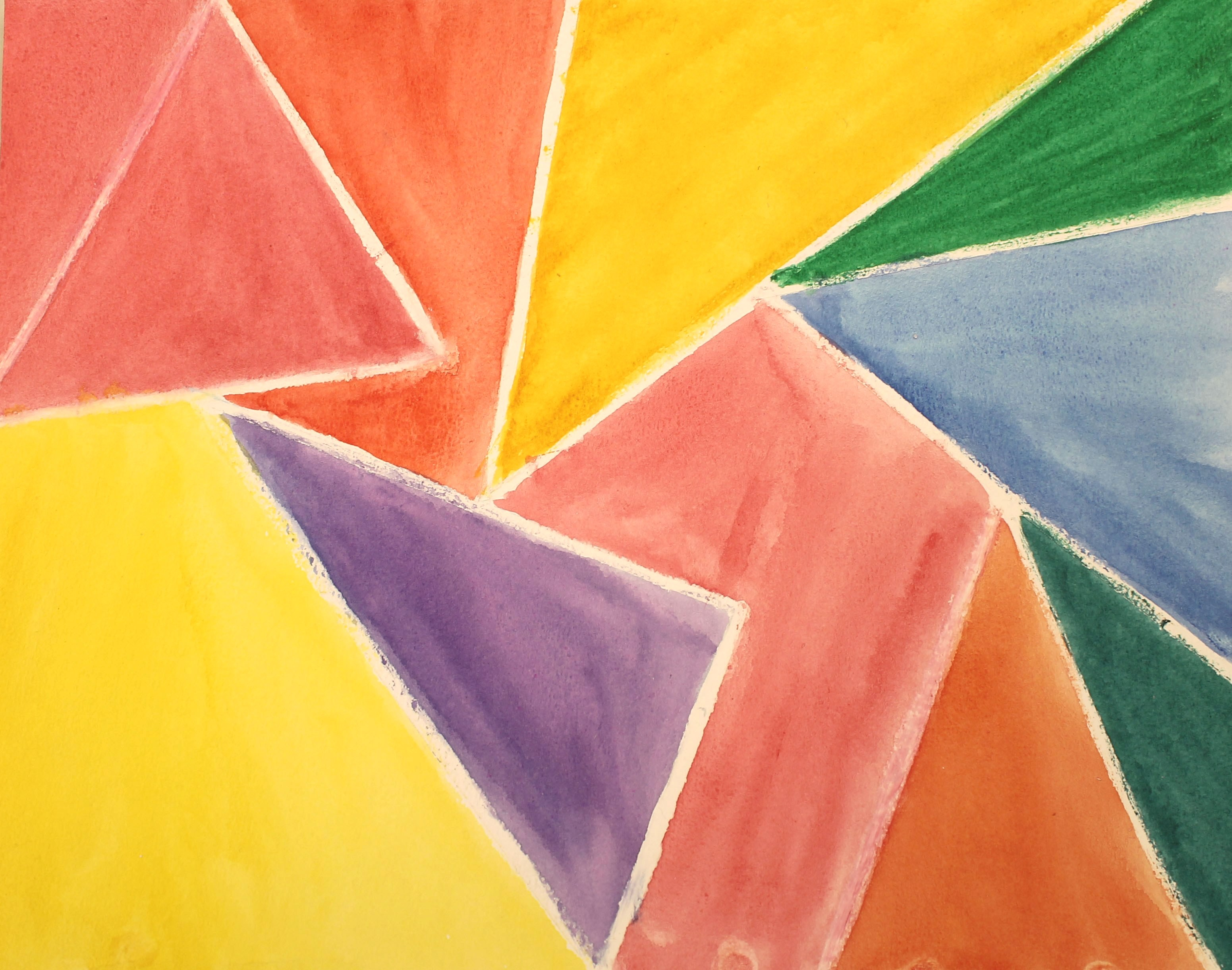 Elements of art color : Geometric organic shapes featured art element in fall courses