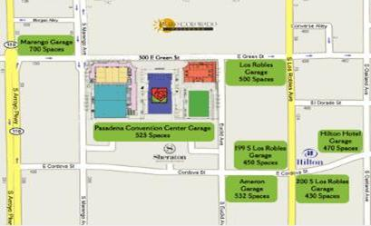 Area and Parking Map